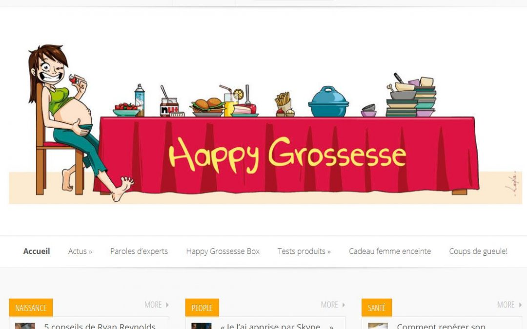 Happy Grossesse, le blog des femmes enceintes